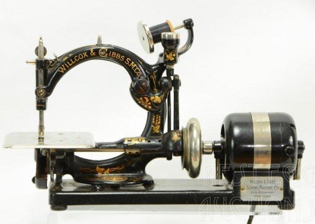 wilcox and gibbs sewing machine company