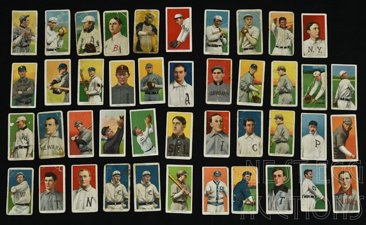T206 Baseball Cards 1909-1911 Tobacco Major League