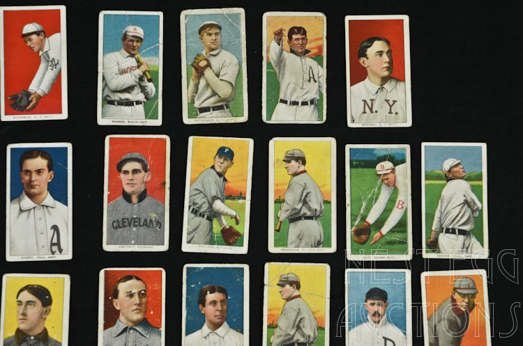 T206 Baseball Cards 1909-1911 Tobacco Major League - 2