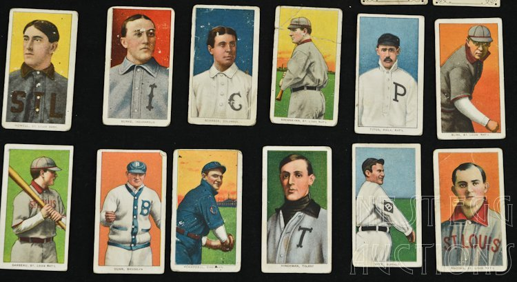 T206 Baseball Cards 1909-1911 Tobacco Major League - 3