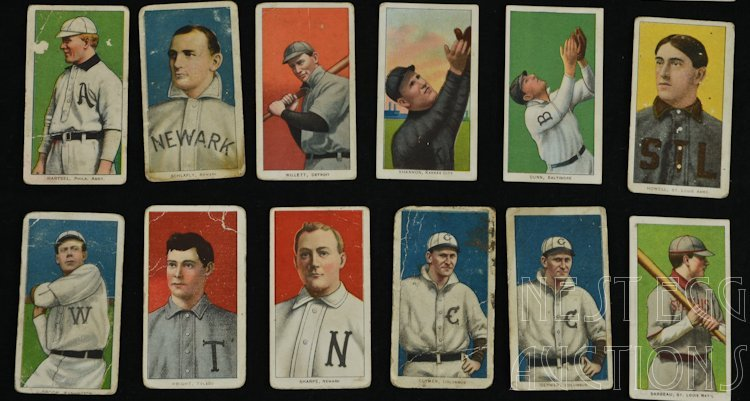 T206 Baseball Cards 1909-1911 Tobacco Major League - 4