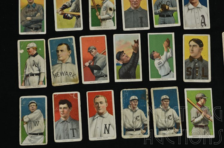T206 Baseball Cards 1909-1911 Tobacco Major League - 5
