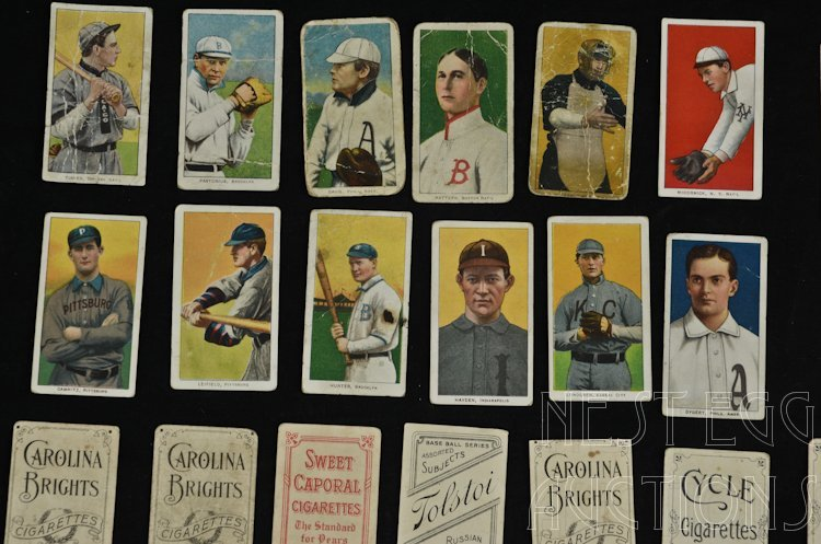 T206 Baseball Cards 1909-1911 Tobacco Major League - 7