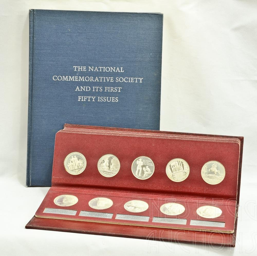 National Commemorative Society Silver Proof Coins