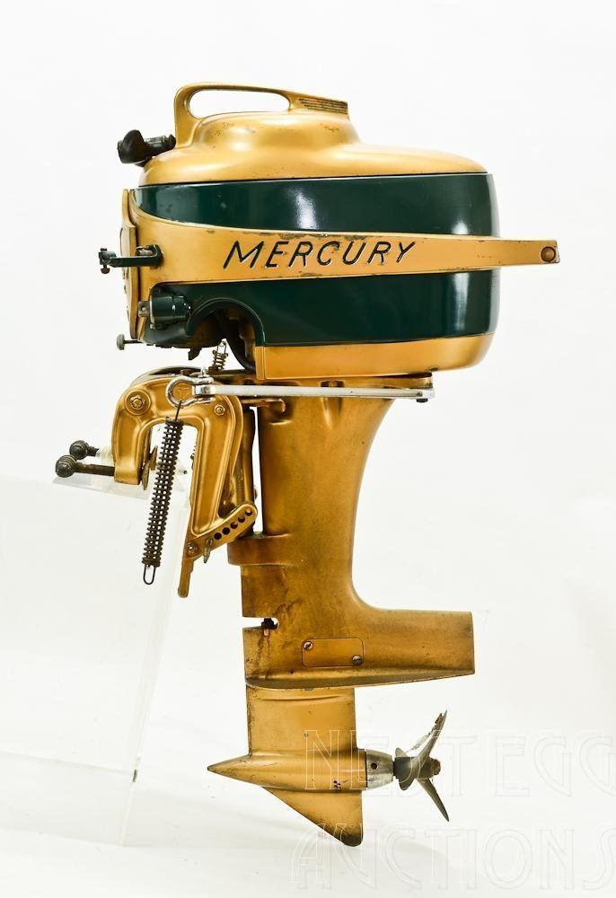 Mercury Mark 20 H 1950's Outboard Racing boat Motor