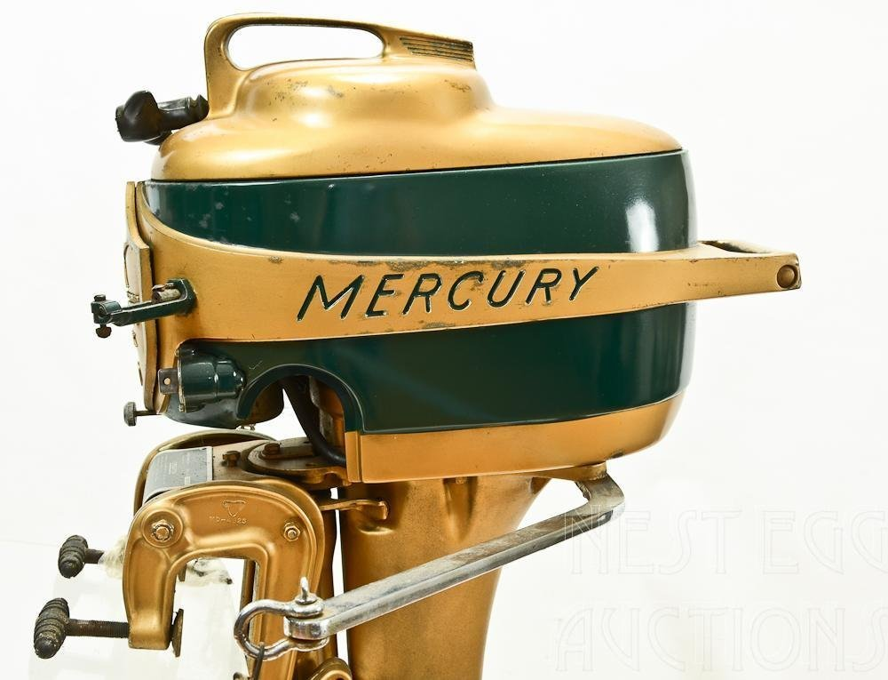 Mercury Mark 20 H 1950's Outboard Racing boat Motor - 2