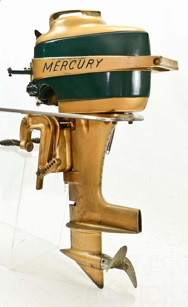 Mercury Mark 20 H 1950's Outboard Racing boat Motor - 3