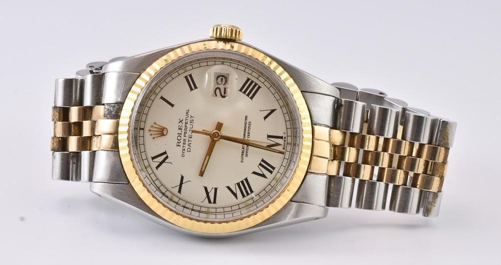Mens Rolex Oyster Perpetual Datejust Rolex wristwatch
