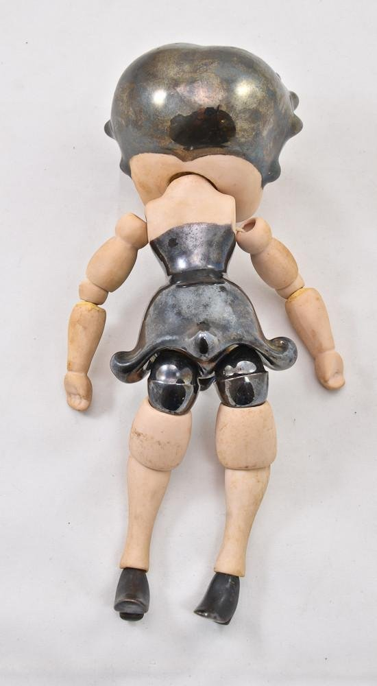 Vintage Betty Boop jointed porcelain doll - 3