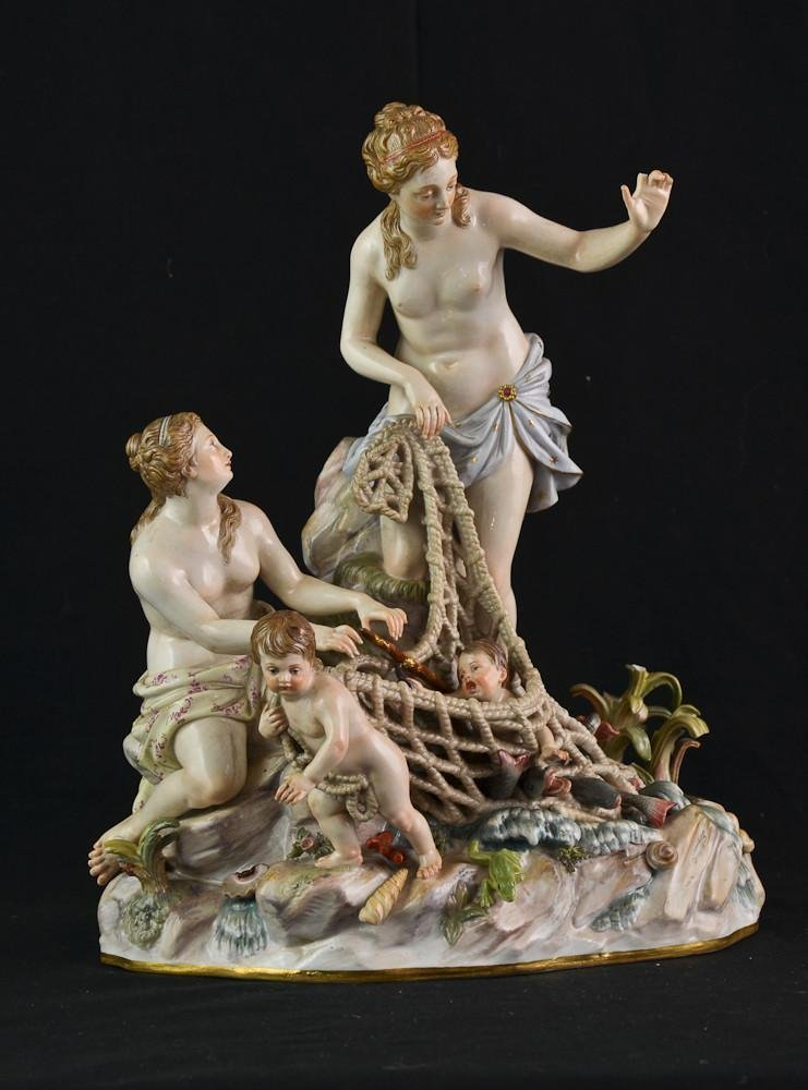 "Meissen Porcelain: ""The Capture of the Tritons"""