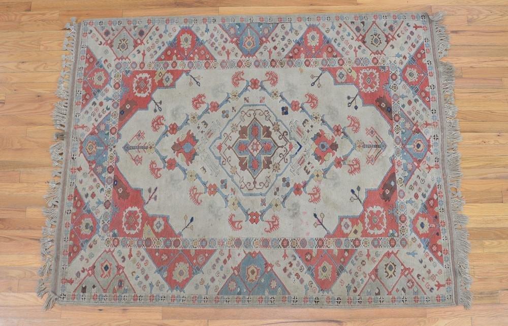 A moroccan Wool Rug / Carpet