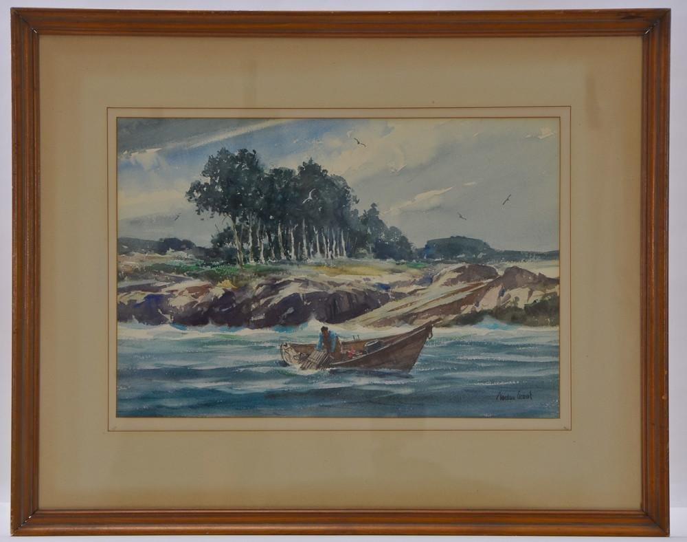 Gordon Hope Grant (1875-1962) Watercolor