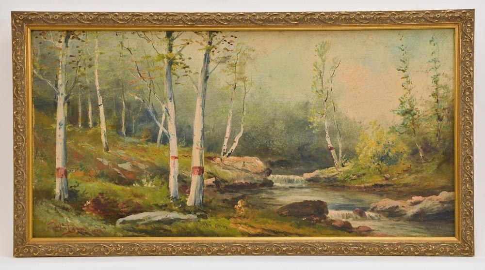 Frederick Matzow (1861-1938) Meriden CT Artist
