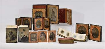 Group of 19th Century Cased Photographs
