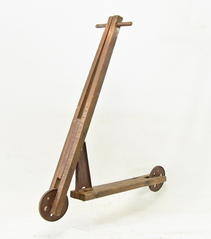 GoCycle Anique wood & Cast Iron Scooter