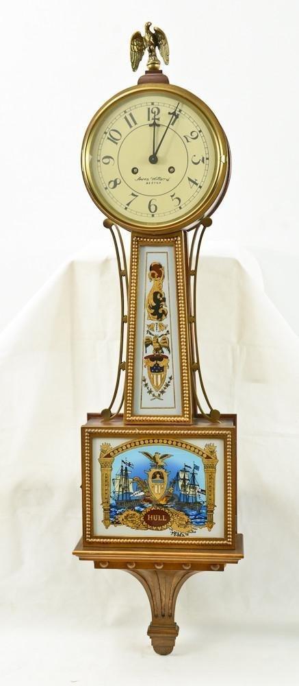 Colonial Aaron Willard Reproduction Banjo Clock
