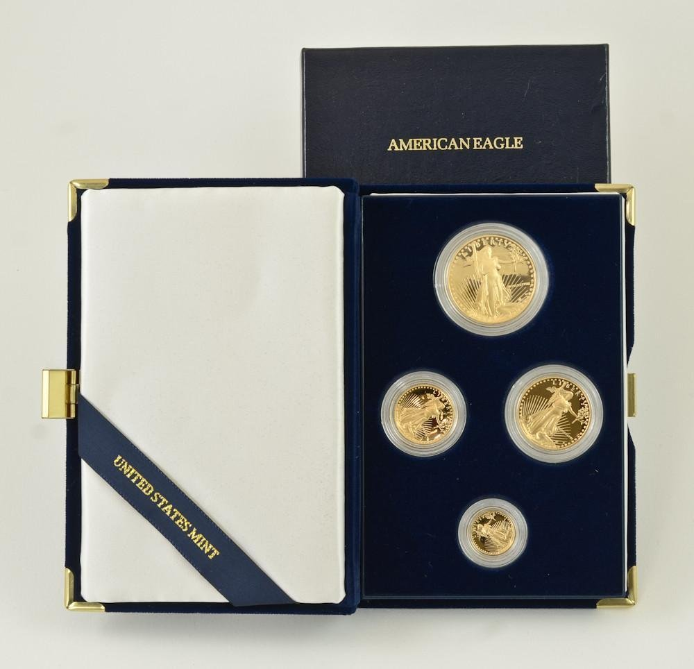 1988 American Eagle Proof Gold Coin set