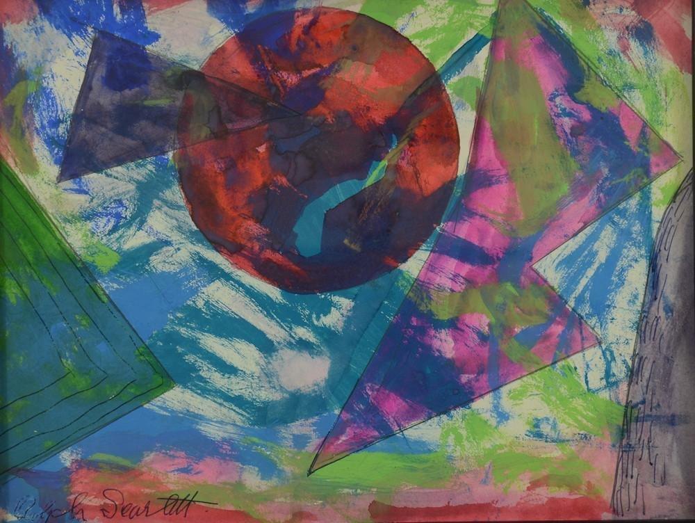 Rolph Scarlett 1891-1984. Geometric Abstract