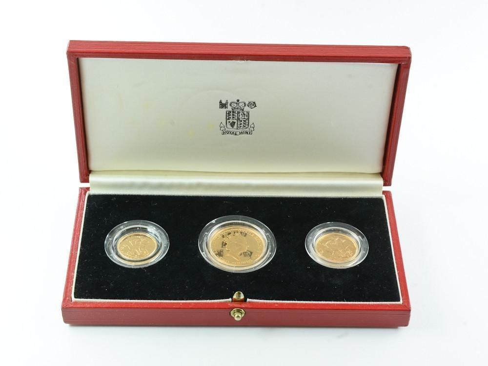 1986 Royal Mint Gold Proof Set