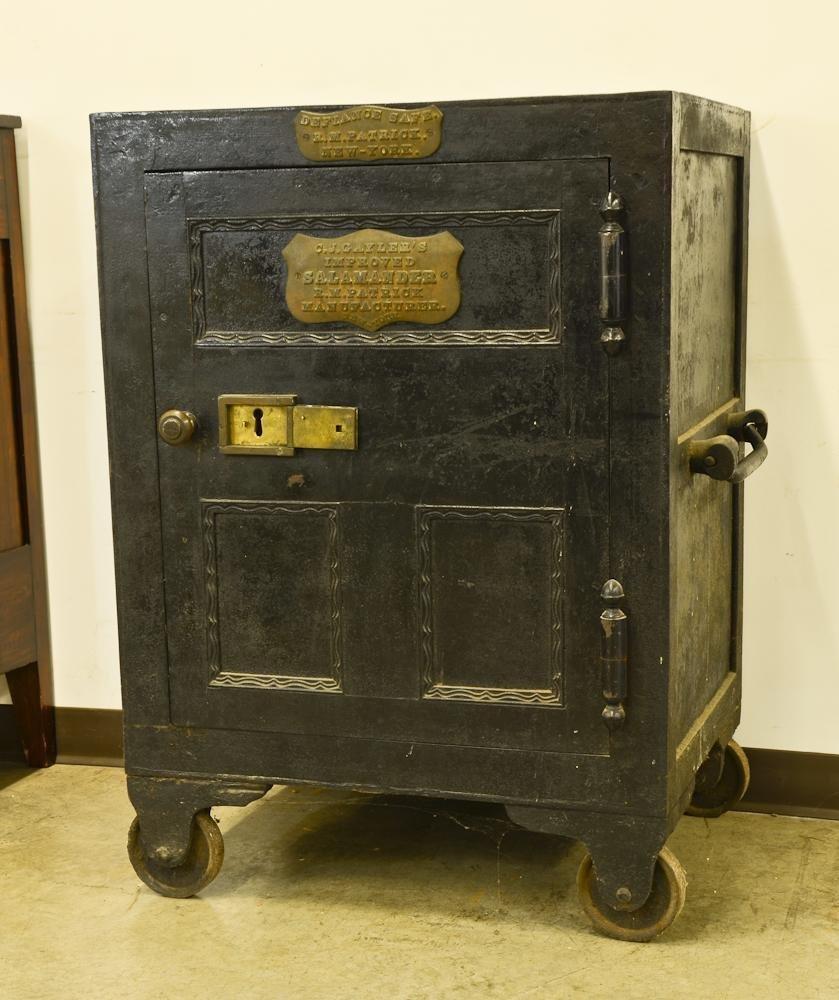 19th Century Defiance Iron safe