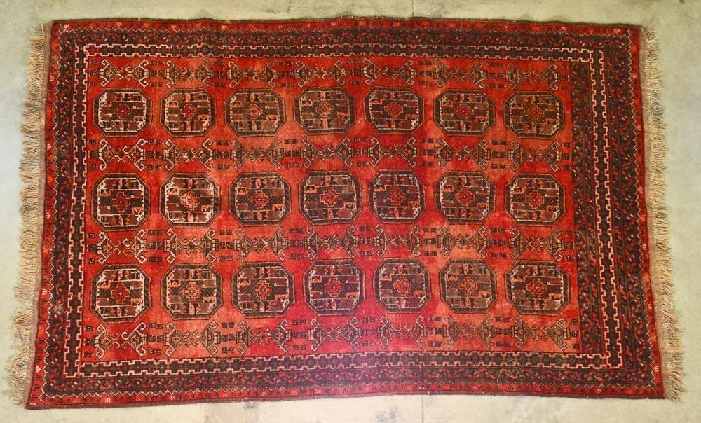 Hand Woven Wool Oriental Rug