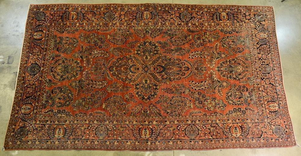 Large Size Sarouk Oriental Carpet