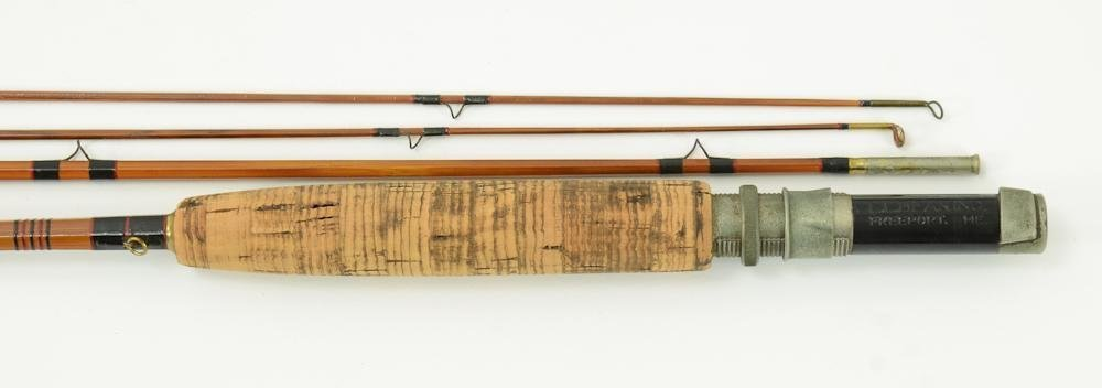L.L. Bean Double L Vintage Bamboo Fly Rod - 3