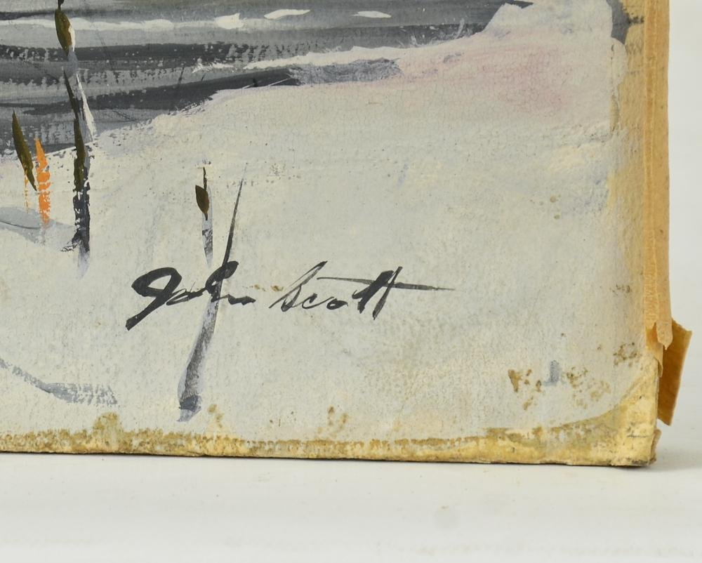 John Walter Scott Hunting Illustration - 2