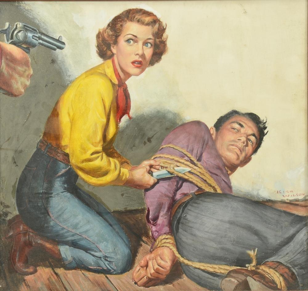 Kirk Wilson: Western Illustration