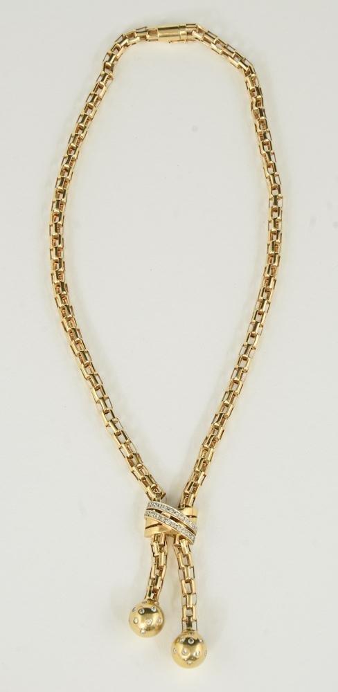 Ladies 14K & Diamond necklace