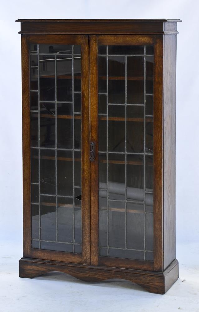 English or Scottish Oak Bookcase