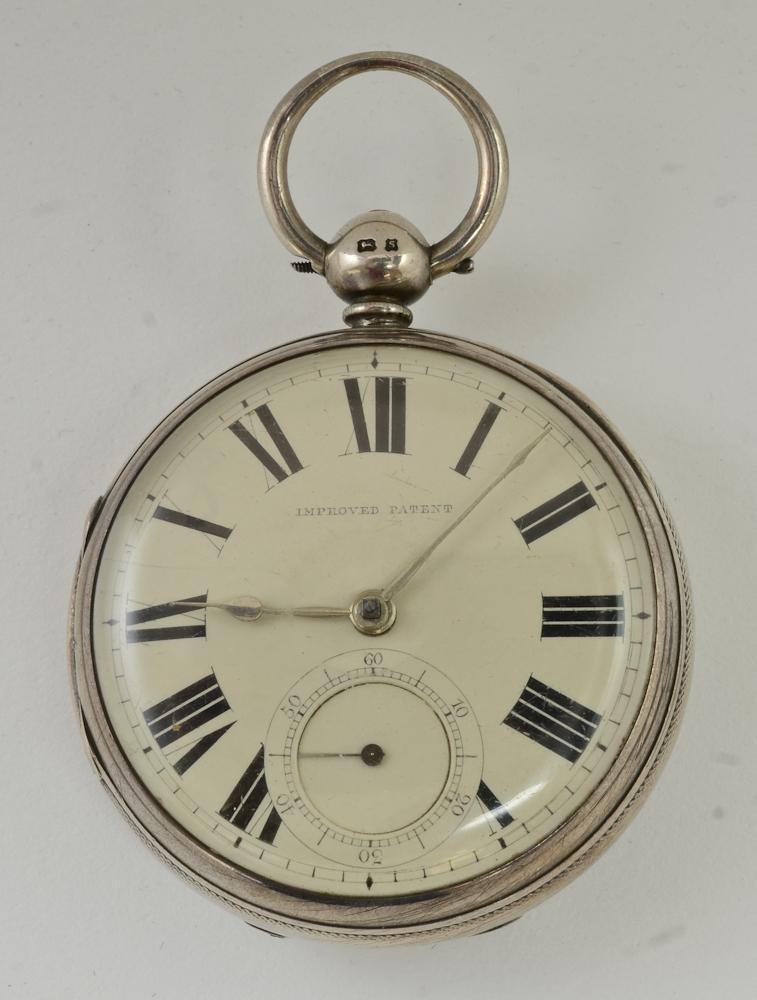 English Silver Men's Pocketwatch