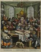 William Hogarth The reward of Cruelty