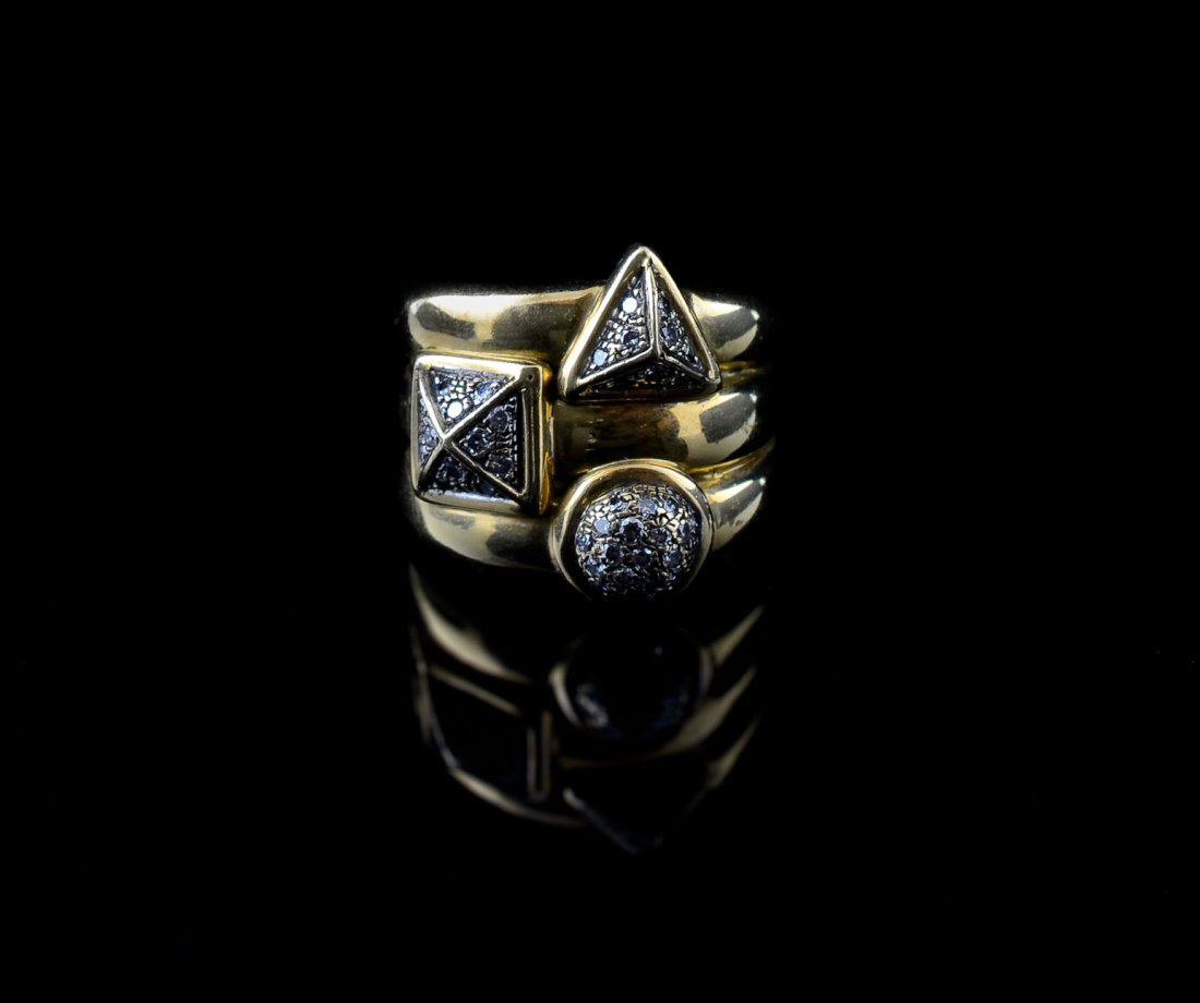 Ladies 18K Diamond Ring