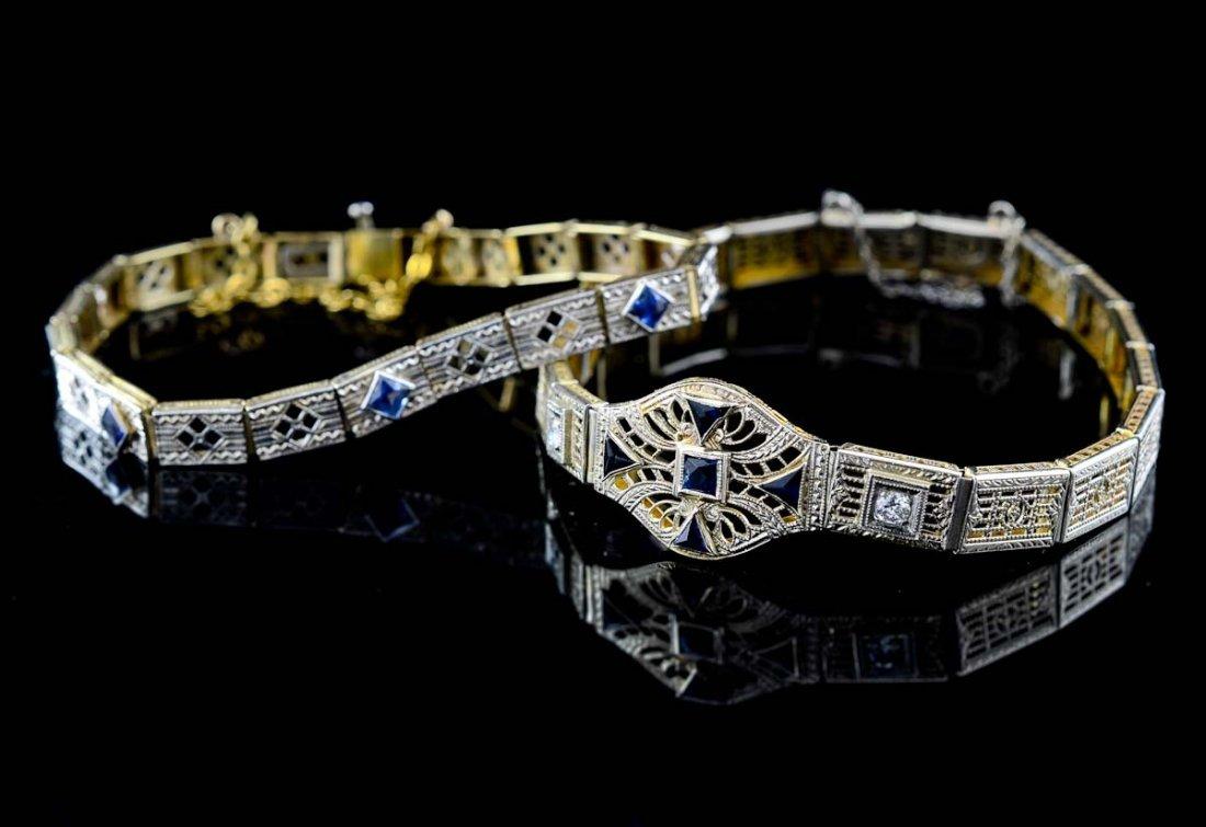 Two Ladies Gemstone Bracelets