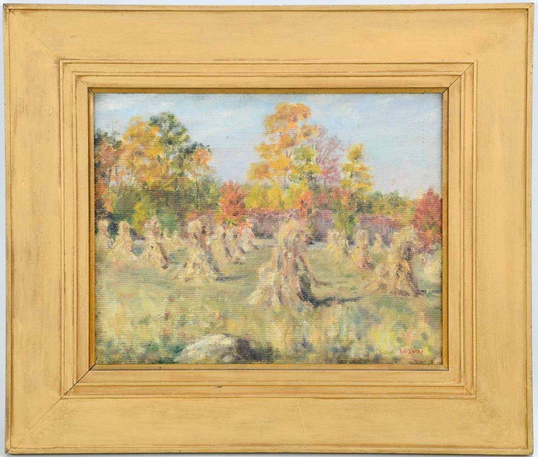 Roy Elliott Bates Fall Landscape
