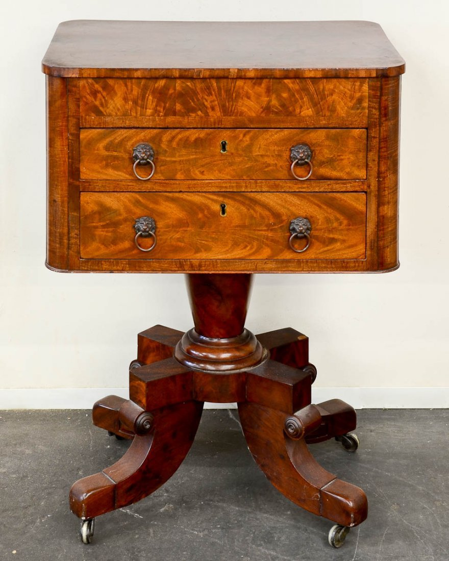 Victorian Sewing Stand