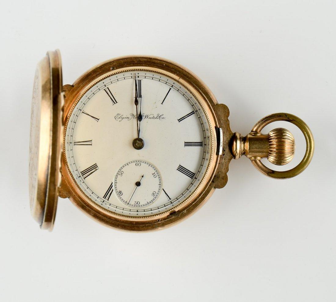 Men's Victorian 14K Gold Pocketwatch
