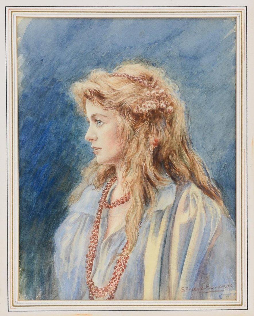 Samuel Arlent Edwards Watercolor