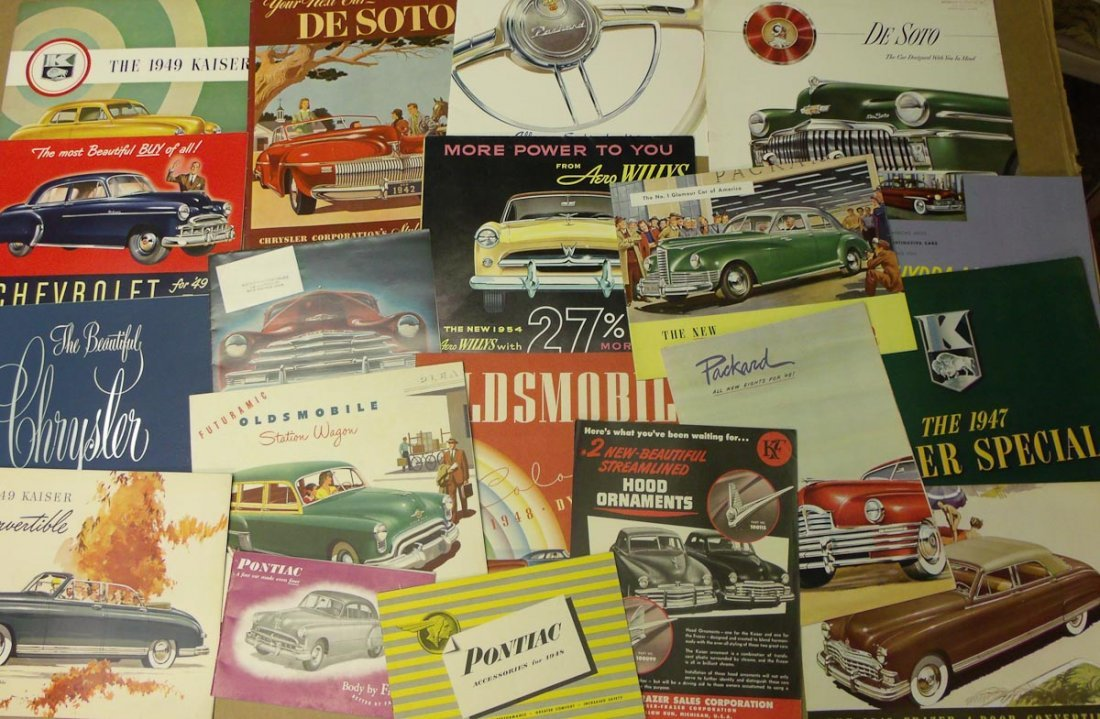 1940's US sales brochures