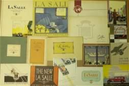 1920s1930s Cadillac  LaSalle brochures