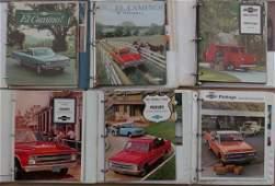 7 Chevrolet truck notebooks