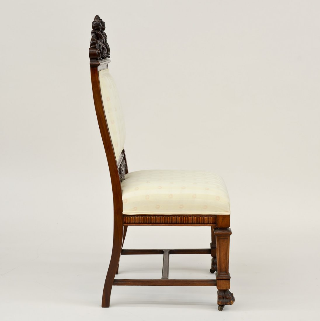 Victorian Carved Side Chair - 2