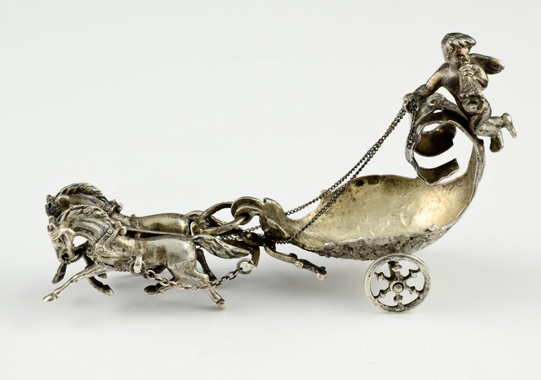 Continental 800 Silver Table Chariot