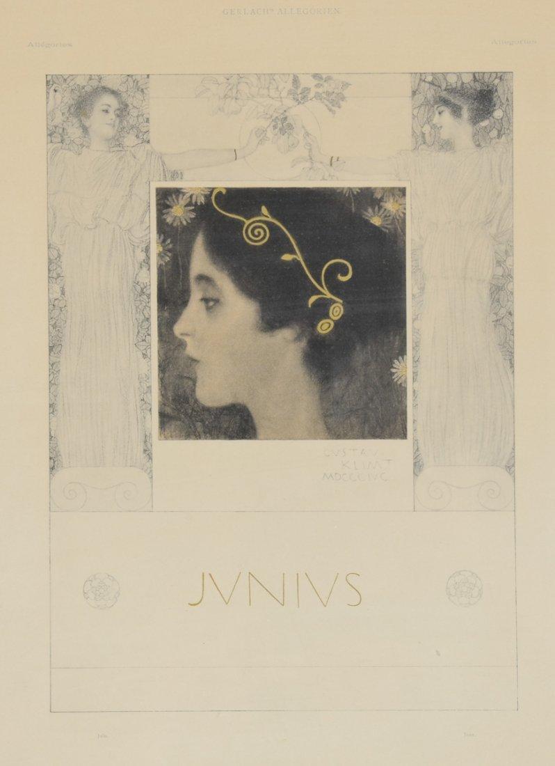 Gustav Klimt: Junius