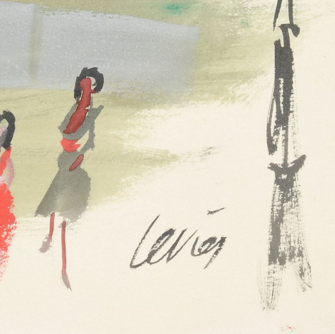 Charles Levier Hotel de Paris Watercolor & ink - 2
