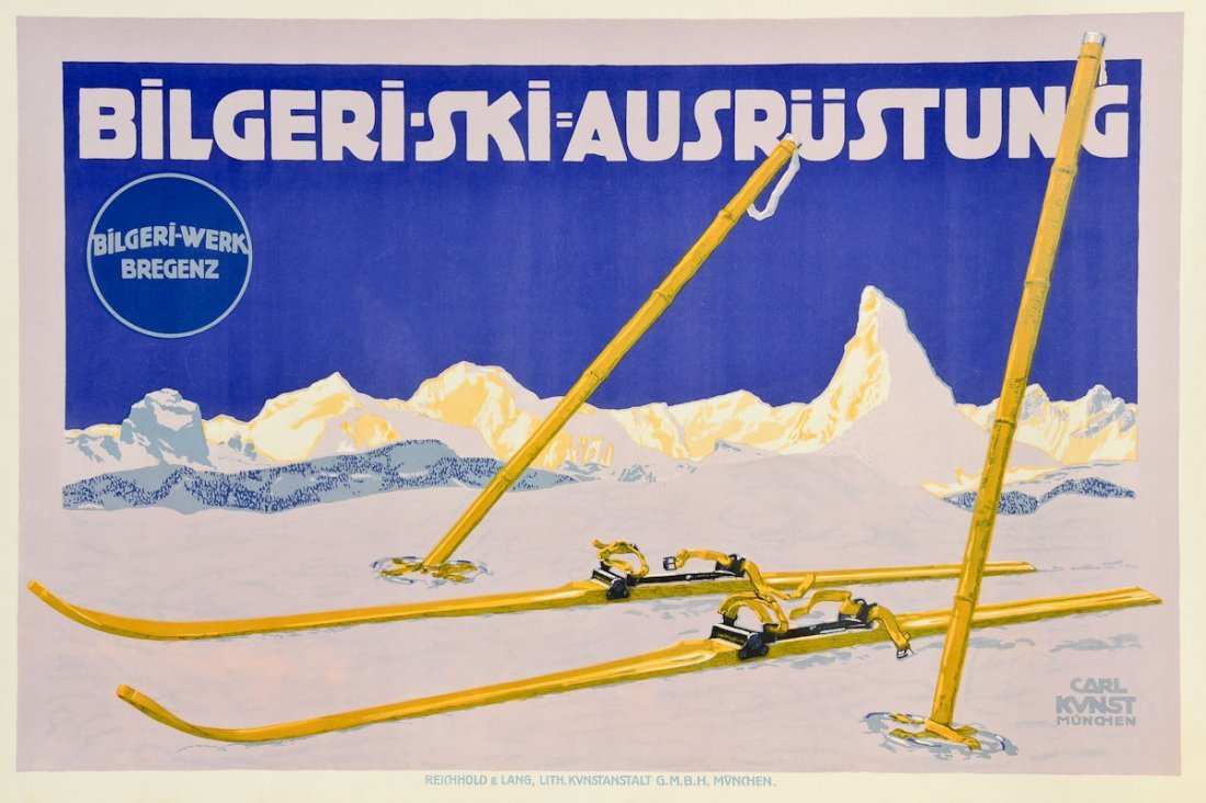 2 Vintage Swiss Travel posters - 2