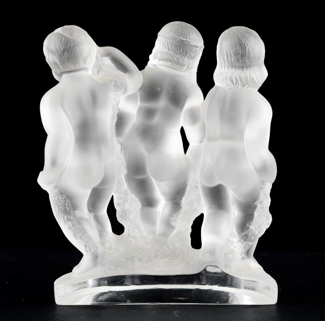 Lalique Luxembourg Cherub Figure - 3