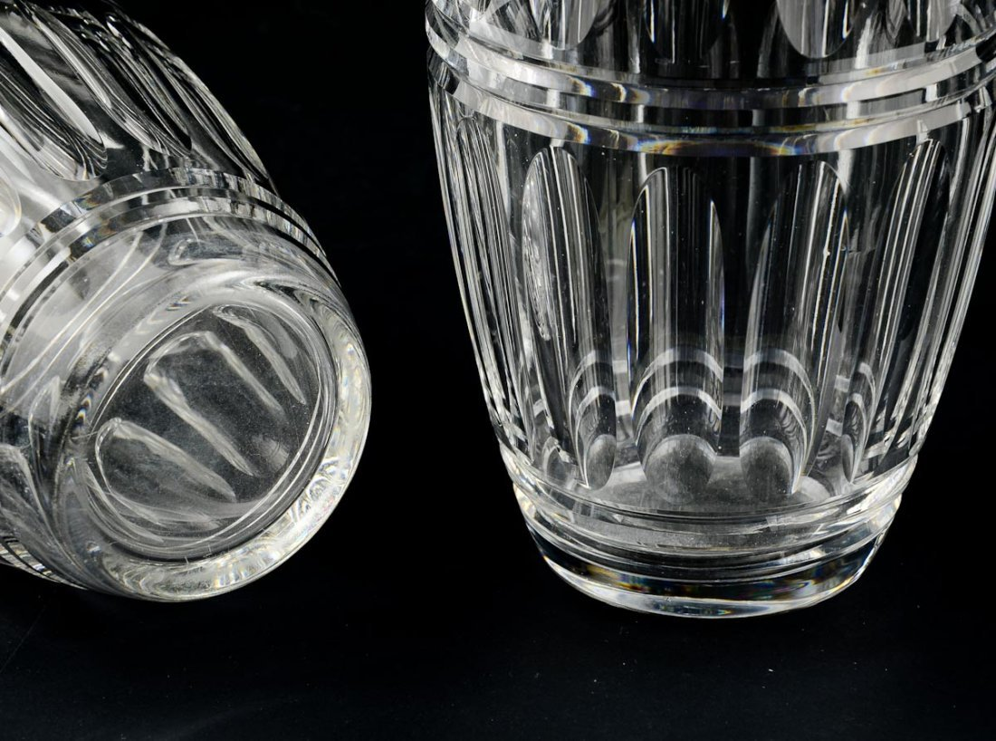 Pair of Hawkes Cut Glass Vases - 2