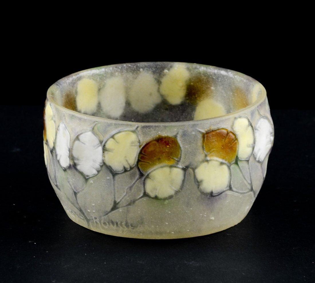 Gabrielle Argy-Rousseau Pate-de-verre Bowl